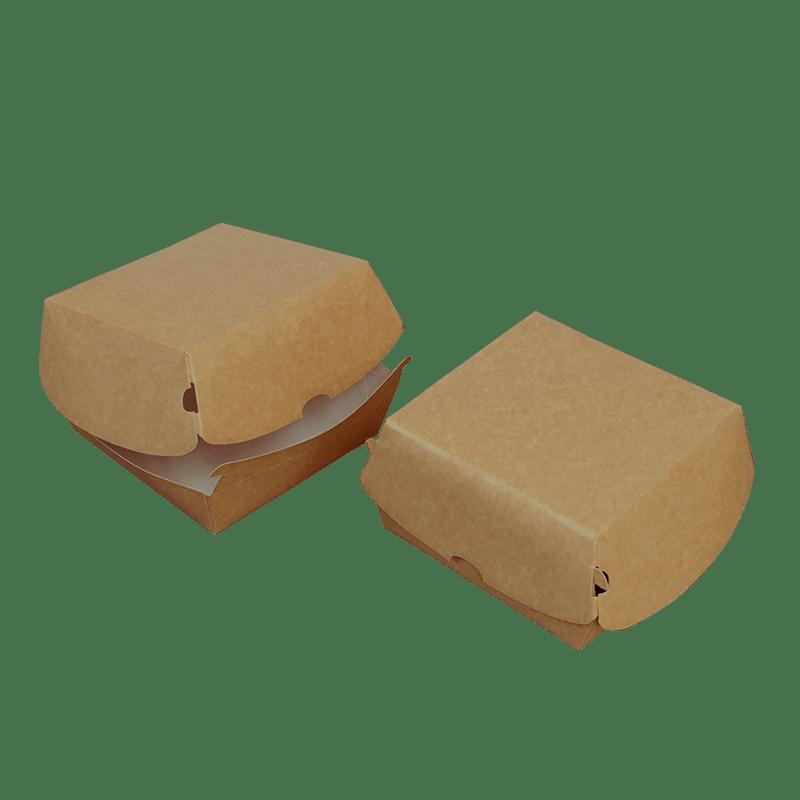 Box hamburger